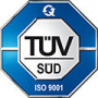 QUADRIGA Polyurethanes and more is certified after DIN EN ISO:9001 by TÜV SÜD, Germany