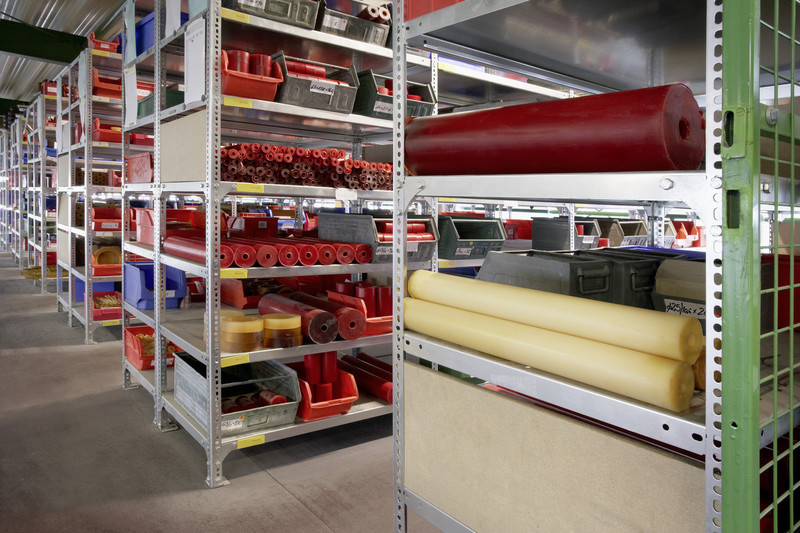 QUADRIGA Polyurethan- und Vulkollan®-Elastomers as pipes, wheels, castors, rollers, bars, plates, cuts, mats
