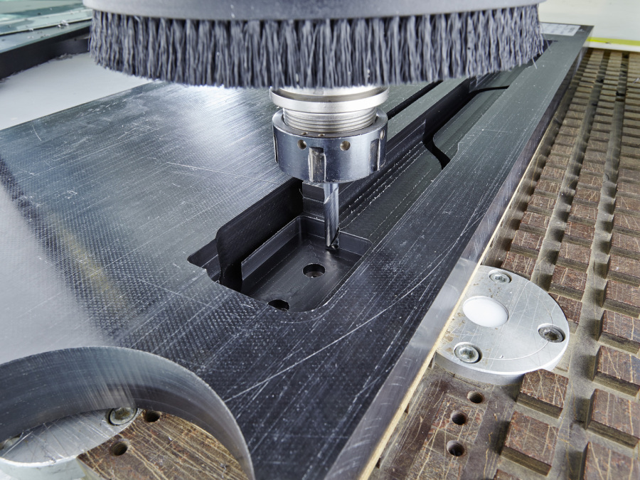 Milling and cutting plotting of polyurethane and VULKOLLAN
