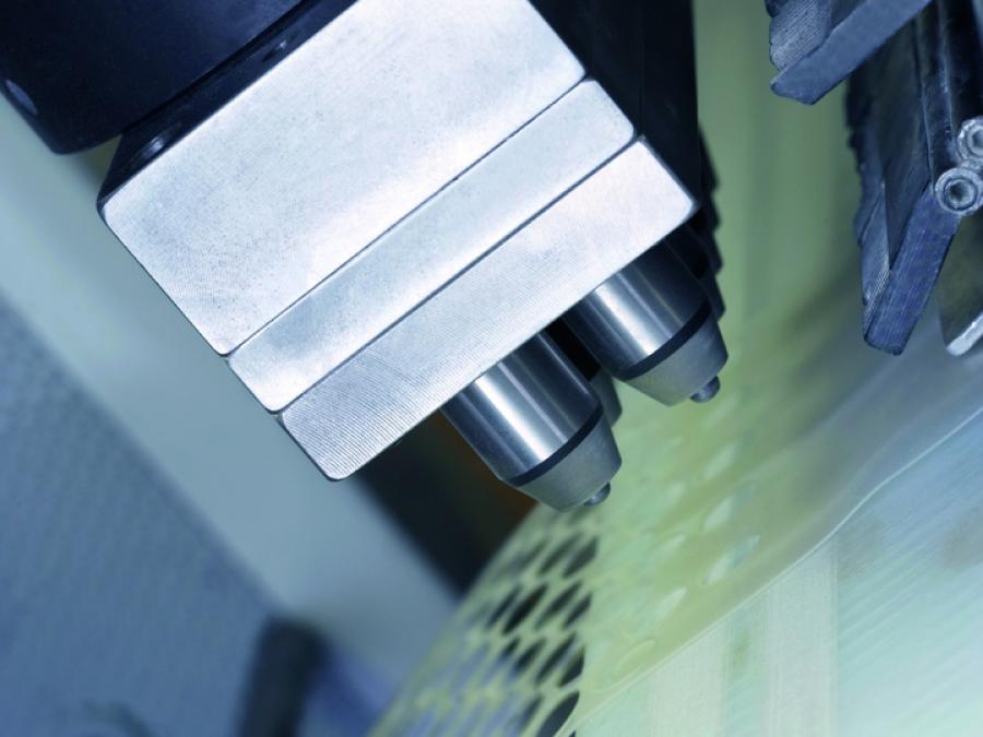 Stamping of polyurethane