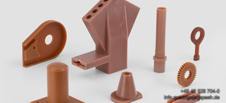 QUADRIGA castings and moldings made of Polyurethane and Vulkollane