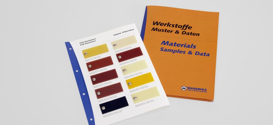 QUADRIGA Material sample folder